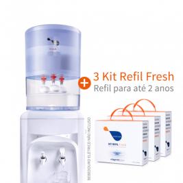 Combo Habitah Fresh 10L + 3 Kit Refil Fresh