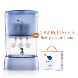 Combo Habitah Fresh 10L Self + 1 Kit Refil Fresh extra